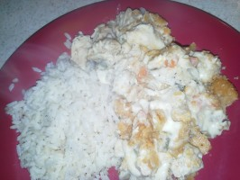 Easy Creamy Sour Cream Chicken Casserole. Photo by Chef #1802769882