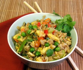 Chicken Fried Rice - OAMC. Photo by dianegrapegrower