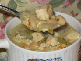 White Chili  (Football Soup). Photo by Charmie777