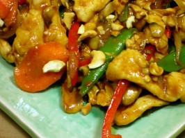 Sweet & Spicy Cashew Chicken. Photo by - Carla -