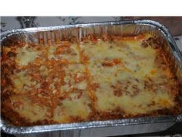 The Lady and Sons Lasagna ( Paula Deen ). Photo by FrenchBunny
