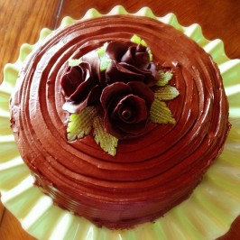 Hershey's Chocolate Cake With Frosting. Photo by Velouria
