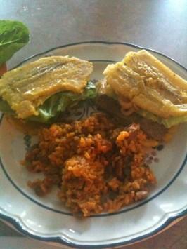 Borinquen Jibarito Sandwich. Photo by rowzeeposie