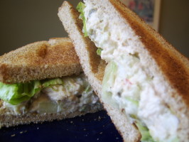 Kittencal's Tuna Salad Sandwiches. Photo by LifeIsGood