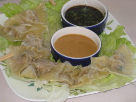 Asian Steamed Dumpling Filling. Photo by FrenchBunny