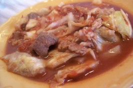 Crock Pot Stuffed Cabbage Soup. Photo by *Parsley*
