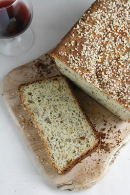 Multi-Grain Bread (Gluten, Dairy and Egg-Free). Photo by Chef #1115668