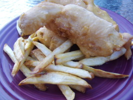 Tyler Florence's Ultimate Fish and Chips. Photo by LifeIsGood