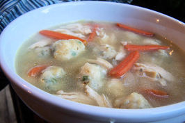 Low Calorie yet   Delicious Chicken and Baby Dumplings. Photo by NcMysteryShopper