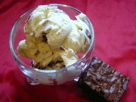 Vanilla Cake Batter Ice Cream. Photo by Pumpkie