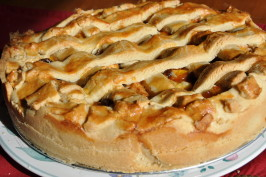 Dutch Apple Pie (Oma's Appeltaart). Photo by Chef #1539318