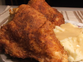 Grandma's Southern Fried Chicken. Photo by Wildflour