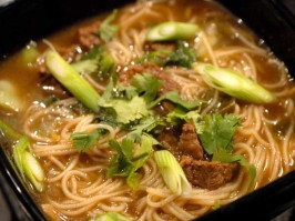 Chinese Cinnamon Beef Noodle Soup. Photo by Sackville