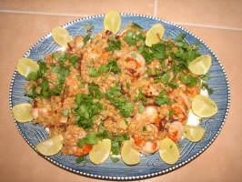 Shrimp With Sweet Toasty Garlic (Camarones Al Mojo De Ajo). Photo by paul_11710697