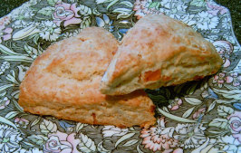 Zaarbucks Famous Apricot Almond Scones. Photo by Mikekey