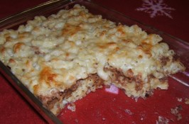 Perfect Pastitsio (Vegetarian). Photo by Ms*Bindy