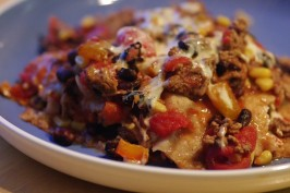 Mexican Casserole - 6.5 Weight Watcher Points. Photo by Redsie