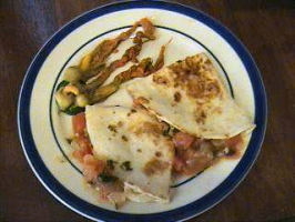 Quesadillas De Flor De Calabaza (Squash-Blossoms). Photo by Mama's Kitchen (Hope)