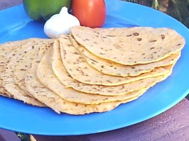 Flour Tortillas (Sun-Dried Tomato, Red Bell Pepper, Garlic &. Photo by Fairy Nuff