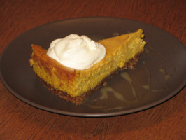 Pumpkin Cheesecake With Bourbon. Photo by wannabedomesticgoddess