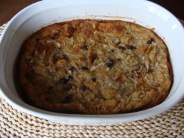 Sourdough Bread Pudding. Photo by Elk River Rancher