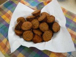 Low Fat Carrot Bran Muffins. Photo by momaphet