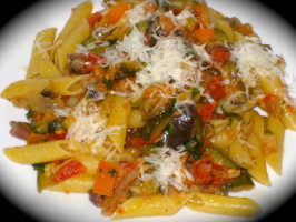 Vegetable Ratatouille With Pasta. Photo by FrenchBunny