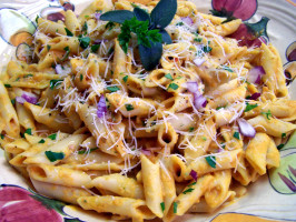 Creamy Pumpkin Pasta. Photo by Rita~