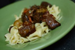 Boeuf Bourguignon a La Julia Child. Photo by run for your life