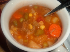 Stacy's Favorite Vegetable Beef Soup. Photo by Stacky5