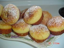 Delicious Sane Baked Sufganiot (Doughnuts) for Hanukkah. Photo by Smadar's Sane Way ©