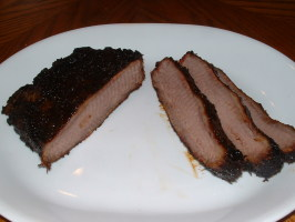 Real Texas Brisket (Smoked) (Southwest). Photo by Roger/OH
