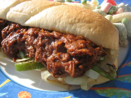 Delicious Crock Pot Barbecued Pulled Pork. Photo by lazyme