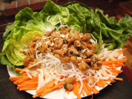 Lettuce Wraps. Photo by Heirloom