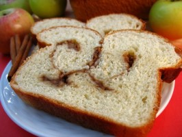 Cinnamon Swirled Apple Bread. Photo by LUv 2 BaKE