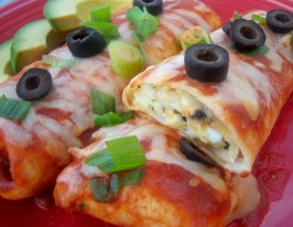 Molly's Cheese Enchiladas. Photo by *Parsley*