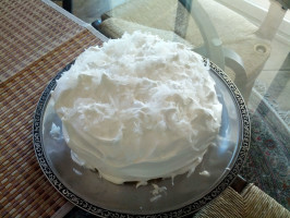 Double Coconut Cake With Fluffy Coconut Frosting. Photo by LqLady