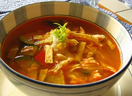 Chicken Tortilla Soup. Photo by WiGal