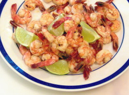 Margaritas and Shrimp All Around. Photo by Mama's Kitchen (Hope)
