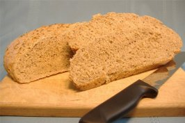 Crusty Sourdough Rye Bread. Photo by Deb's Recipes
