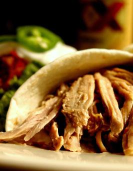 Pork Machaca (Tender Pulled Mexican Pork). Photo by GaylaJ