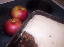 Gluten Free Apple Cake. Photo by GlutenFreeGirl