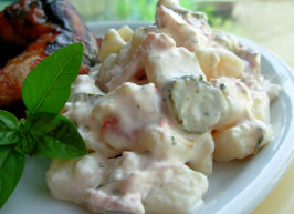 Secret Ingredient Low Fat Potato Salad!. Photo by French Tart