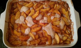 Good-'n'-Gooey Fresh Peach Cobbler. Photo by PM24