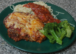 Authentic Chicken Parmesan. Photo by beckas