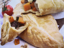 The Coal Miner's Fast Food - Cornish Pasties. Photo by French Tart