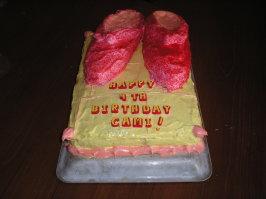 Cake - Dorothy's Ruby Slippers. Photo by Jodi Consoli
