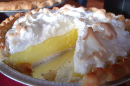 Lemon Meringue Pie. Photo by Linda's Busy Kitchen