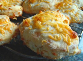 Very Tasty Cheesy Cheddar and Oat Scones. Photo by Derf