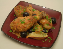 Moroccan Chicken. Photo by TasteTester